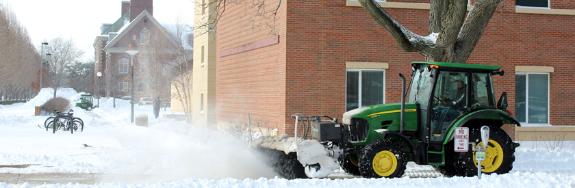 Snow Removal Guidelines/Priority Parking Lots