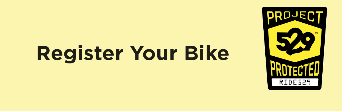 CAMPUS JOINS A NATIONAL BICYCLE REGISTRATION SYSTEM