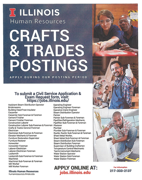 Crafts & Trades Testing Updated