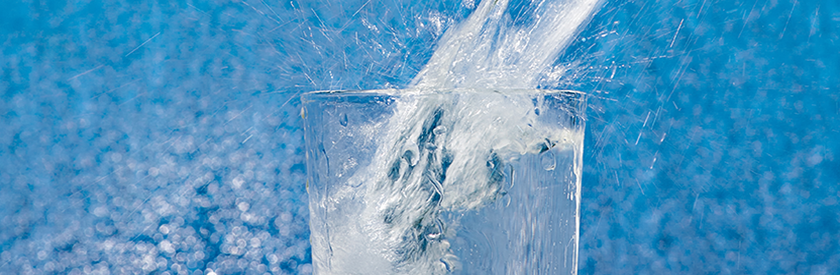 Water Glass Banner