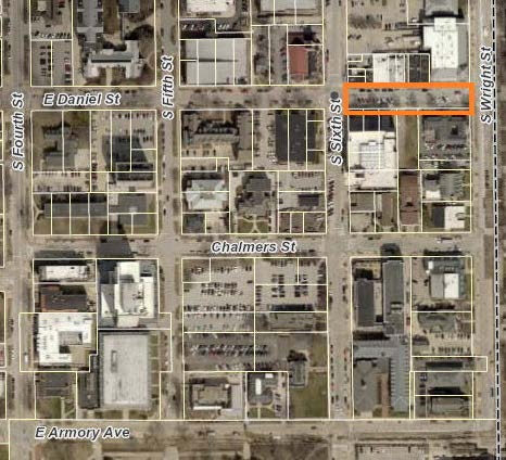Champaign Street Closure - Daniel St between 6th St and Wright St