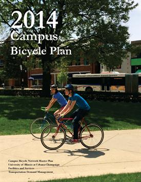 2014 Campus Bicycle Plan cover