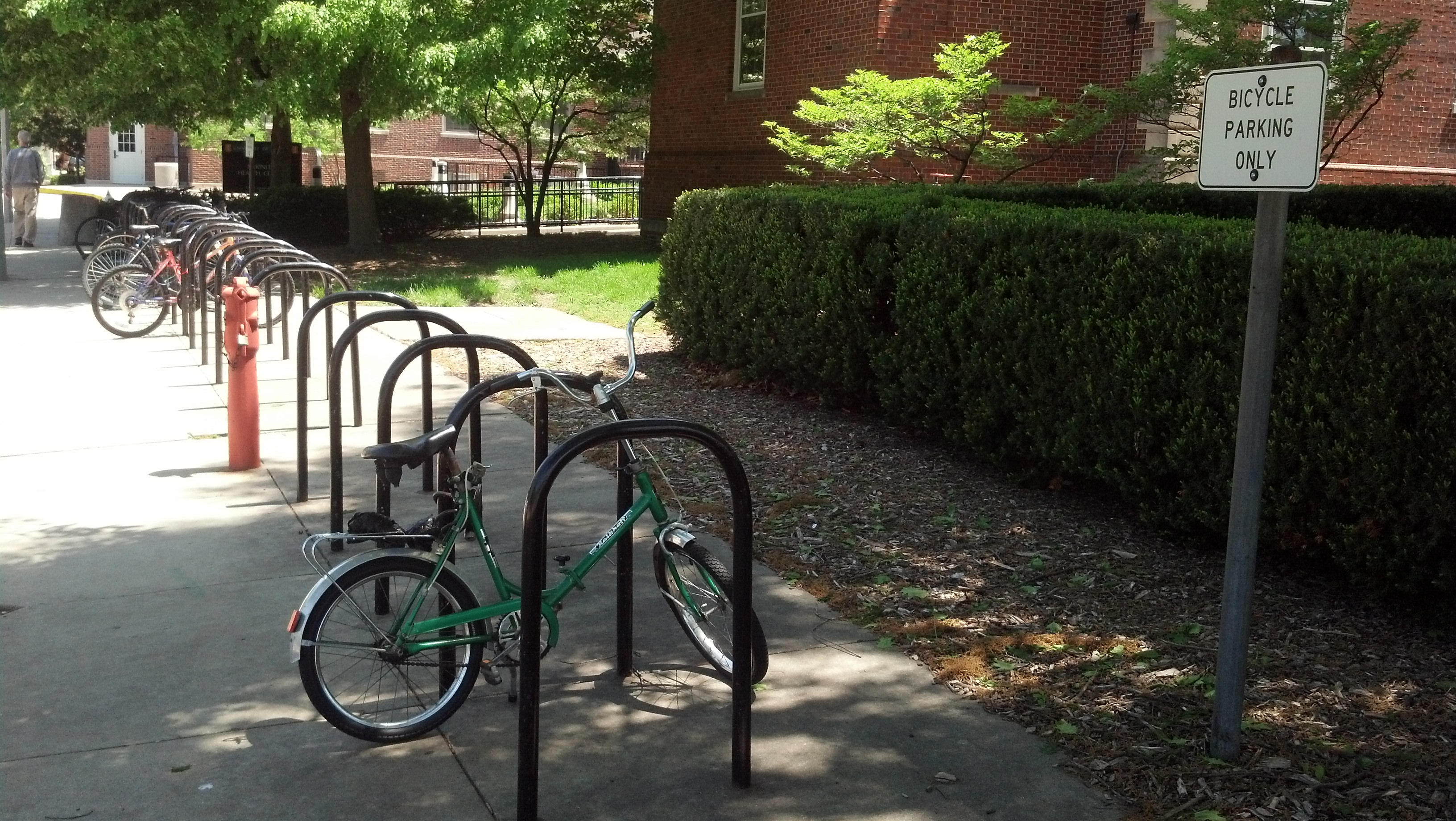 Mckinley bike parking