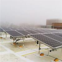 Solar array on Wassaja Hall